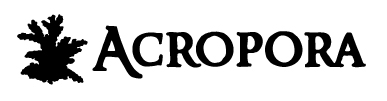 Acropora - Salon akwarystyki morskiej